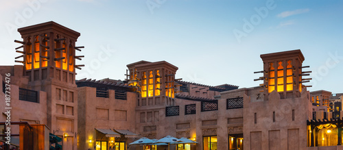 Fotomural View of the  Souk Madinat Jumeirah