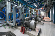 Pumps In A Cogeneration Station