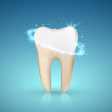 Tooth Whitening Concept, Teeth...