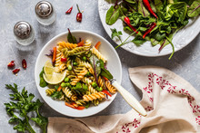 Pasta Salad With Fresh Herbs S...