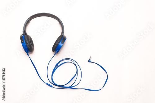 Obraz słuchawki muzyczne - fototapety do salonu