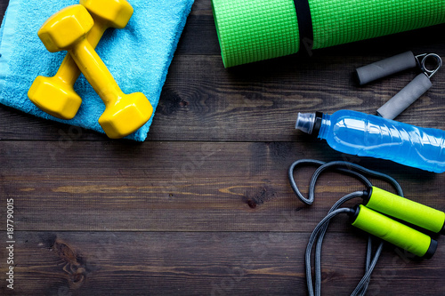 Fitness equipment Canvas-taulu