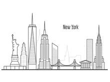 New York City Skyline - Manhat...