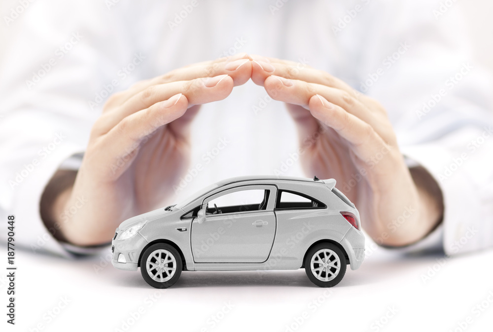 Fototapeta Car insurance