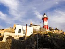 Mediterranean Lighthouse In Ol...