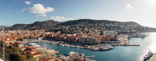 Deurstickers Nice Beautiful Port of Nice, France