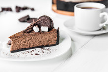 Chocolate Cheesecake With Piec...