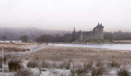Fototapeta Kilchurn Castle obraz na płótnie
