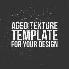 Aged Texture Template For Your...