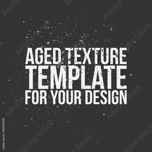 Aged Texture Template for Your Design Tablou Canvas