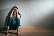 Woman Having Depression Bipola...