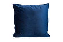 Cobalt Blue Cushion On White B...
