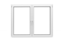 3d Window Frame On White Backg...