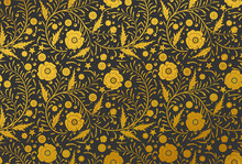 Vector Seamless Floral Pattern...