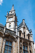 canvas print picture -  Gent - The tower of Post palace in morning light