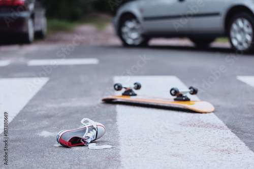 Traffic accident at pedestrian crossing - Buy this stock