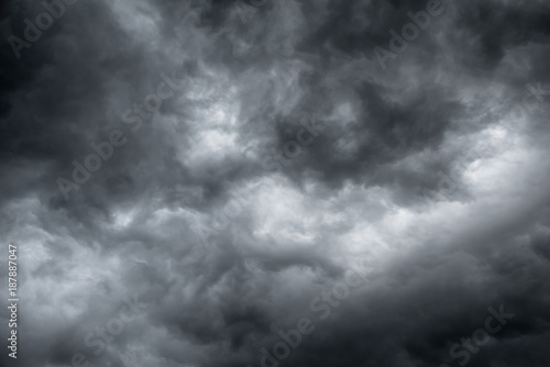 Canvas Prints Heaven Rain clouds, abstract background texture