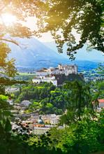 Fortress Salzburg In Austria M...