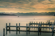 Blick über den Starnberger See