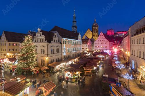 Photo Weihnachtsmarkt Pirna