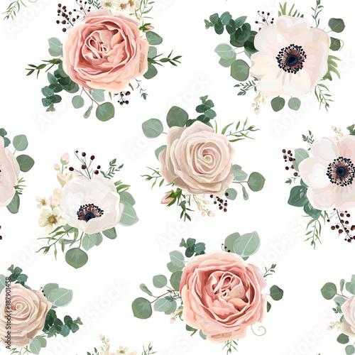 jednolite-wzor-wektor-kwiatowy-wzor-stylu-akwarela-ogrod-proszek-bialy-rozowy-anemone-kwiat-srebrny-eucalyptus-oddzial-zielony-tymianek-wosk-kwiaty-zieleni-liscie-jagod-rustykalne-romantyczny-tlo-wydruku