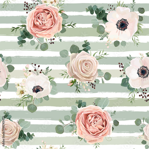 malowane-kwiaty-roz-pasy-w-tle
