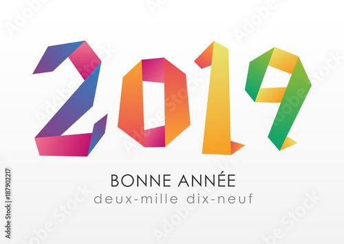 Fotografía  Bonne Année 2019