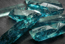 Aquamarines  And Raw Crystal G...