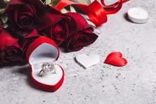 Valentines Day Marry Me Weddin...