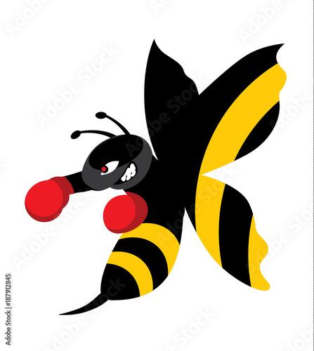 Fotografie, Tablou Float like a butterfly, sting like a bee