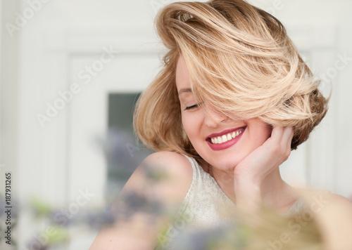 Valokuva  portrait of a blonde girl