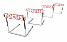 Focus On The Finish Line Hurdl...
