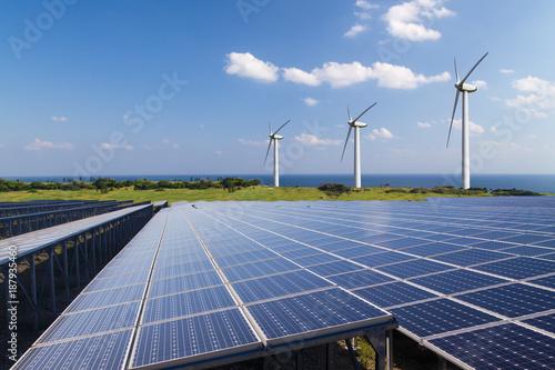 Obraz 再生可能エネルギー イメージ - fototapety do salonu