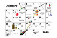January Unusual Holidays And Q...
