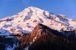 January Alpenglow, Mount Rainier, Washington, 2017
