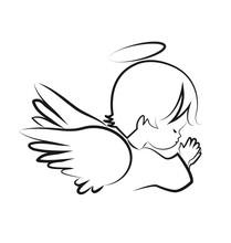 Praying Angel Child, Believe I...