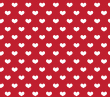 Heart Seamless Pattern. Love R...