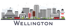 Wellington New Zealand City Sk...