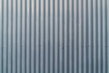 Wall - Grey/Silver Corrugated ...