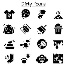 Dirty Icon Set