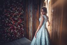 Woman With Fantasy Fancy Dress...