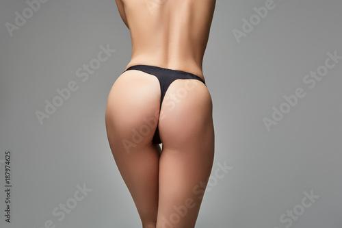 Poster Ezel beautiful girl butt on in black panties