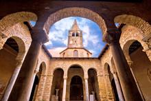 Euphrasian Basilica In Porec A...