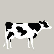 Vector Illustration Of A Milk ...