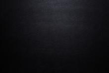 Close Up Luxury Black Leather ...