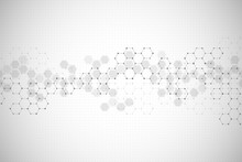 Abstract Hexagonal Background....