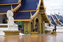 Temple,Wat Den Salee Sri Muang Gan(Wat Ban Den),Chiang Mai,Thailand.