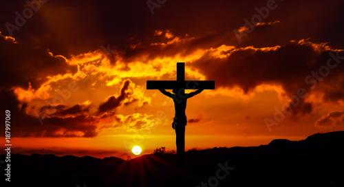 Fotobehang Bruin Holy week 1