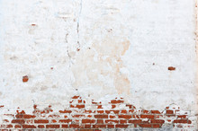 Texture Of Old Brick Wall With...
