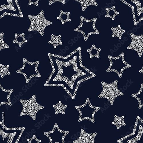 blyskotliwy-wzor-z-gwiazdami-ze-srebrnych